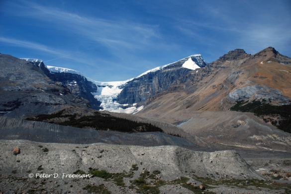 Receding Glacier: Alberta, Canada.