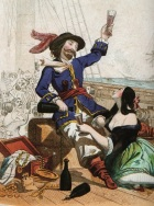 Scandalous! Vintage image discovered at Pirate Empire Blogspot