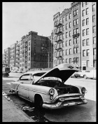 Phil Stanziola. Abandoned Car at Macombs Road, Bronx. Library of Congress. cph 3c36224
