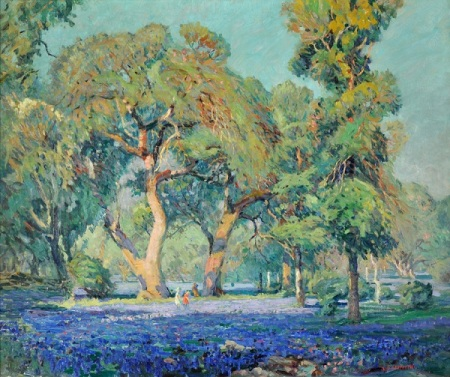 Louis Oscar Griffith. Tranquil Afternoon, 1929.  Witte Museum.