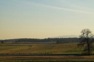 11 10 2014 gettysburg peace light view of fields hills