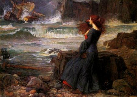 John William Waterhouse, 1916.