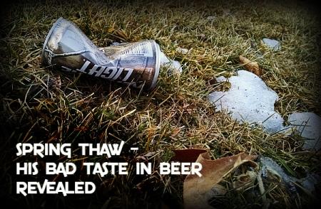 spring thaw haiga beer