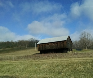 4 4 2015 barn fields clouds branches