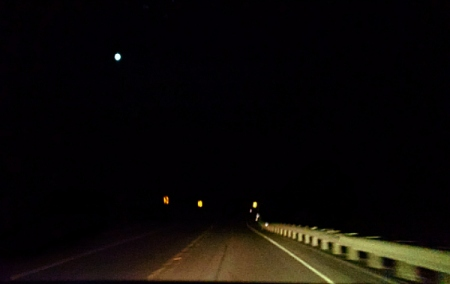 4 4 2015 highway signs night vehicle lights 9 2 moon
