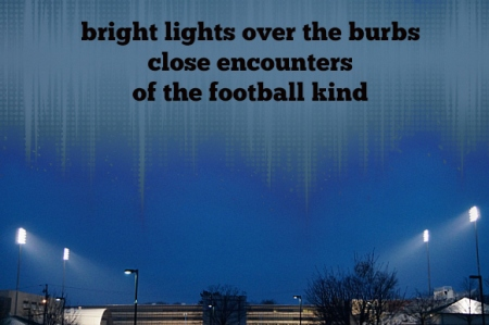 bright lights haiga