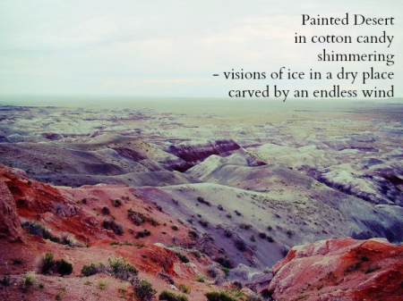 Painted Desert Haiga
