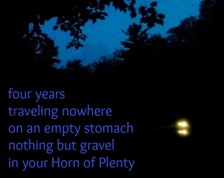 traveling nowhere haiga