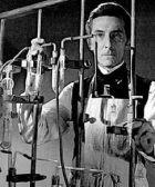 Peter Cushing. Laboratory