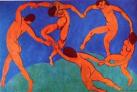Henri Matisse. Dance ii, 1910. WikiArt.